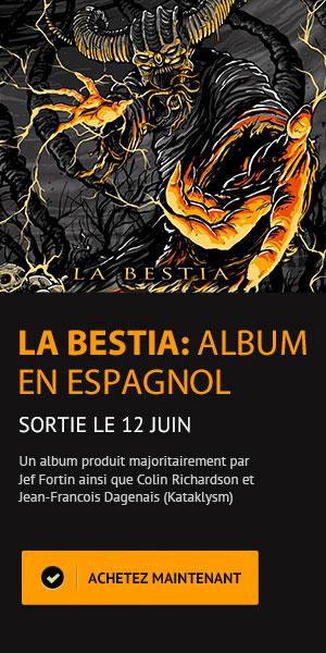 La Bestia - Sortie d'album en espagnol - Anonymus le 12 juin