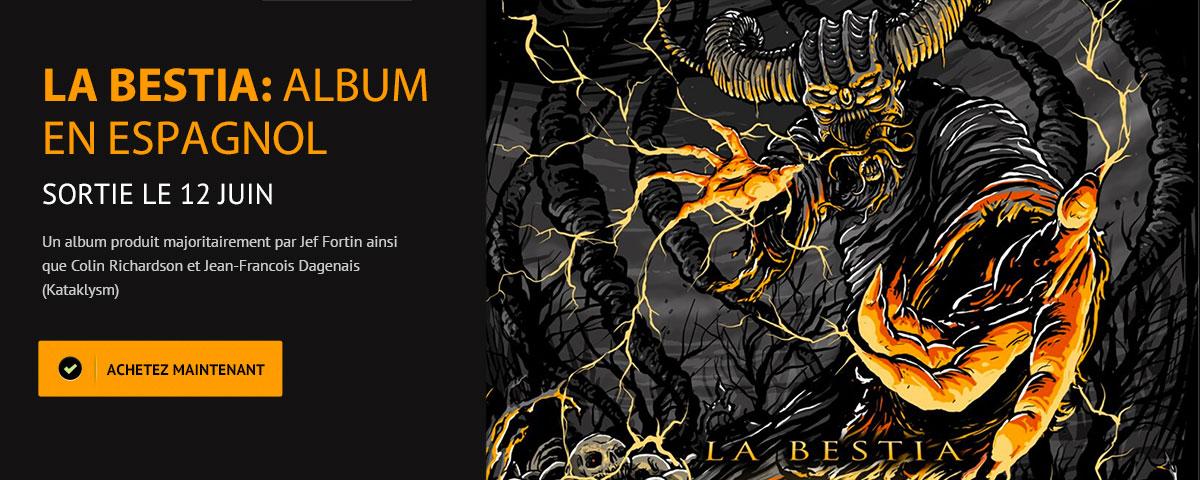 La Bestia - Sprtie de l'album en espagol le 12 juin - Anonymus