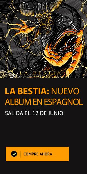 La Bestia - Nuevo album en espagnol salida el 12 de junio - Anonymus